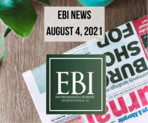 EBI News for August 04, 2021- Energy Cloud Eradicates Airborne COVID-19 On First Pass